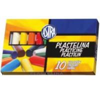 Plastelina Astra 5545 10 kolorów