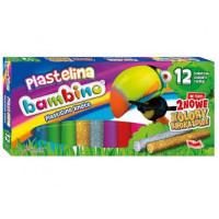 Plastelina Bambino St.Majewski 12 kolorów