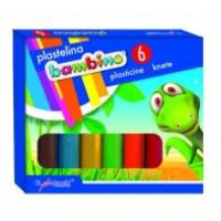 Plastelina Bambino St.Majewski 6 kolorów