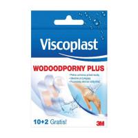 Plaster wodoodporny VISCOPLAST Plus, 10szt.+2szt.GRATIS