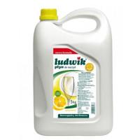 Płyn do mycia naczyń LUDWIK cytrynowy 5l