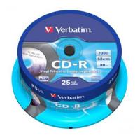 Płyta CD-R VERBATIM Printable cake 25szt.