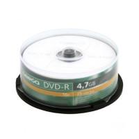 Płyta DVD-R OMEGA 4,7GB/120min cake 25szt.