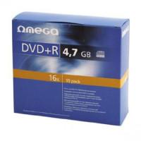 Płyta DVD+R OMEGA 4,7GB/120min slim 10szt.