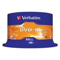 Płyta DVD-R VERBATIM 4,7GB/120min cake 50szt.