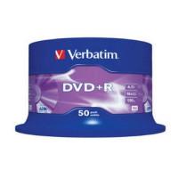 Płyta DVD+R VERBATIM 4,7GB/120min cake 50szt.