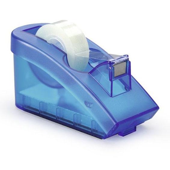 Podajnik do taśmy DURABLE Trend transparentny niebieski