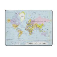 Podkładka na biurko DURABLE z mapą Świata 400x530mm