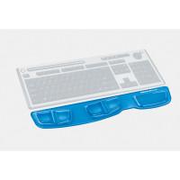 Podkładka przed klawiaturę FELLOWES Health-V Crystal niebieska 9183101