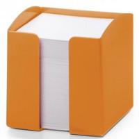 Pojemnik na karteczki DURABLE Trend pomarańczowy
