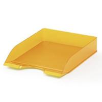 Półka na dokumenty DURABLE Basic bezbarwna pomarańczowa