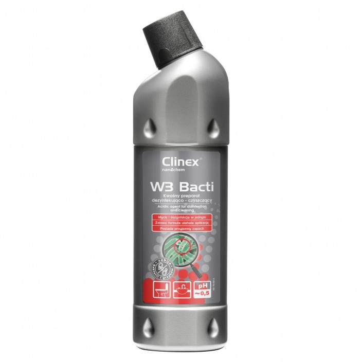 Preparat dezynfekująco-czyszczący CLINEX W3 Bacti 1L