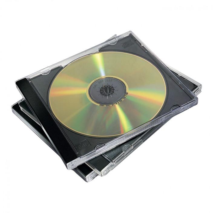 Pudełka na płyty CD/DVD FELLOWES 10 sztuk