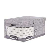 Pudło z uchylnym wiekiem FELLOWES Bankers Box System z FSC® FastFold, opakowanie 10 szt.