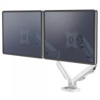 Ramię na 2 monitory FELLOWES Eppa - białe 9683501