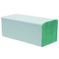 Ręcznik papierowy w składce Z-Z zielony (20x200 listków) 4000szt.