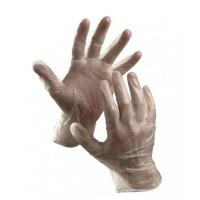 Rękawice winylowe pudrowane CERVA Rail rozmiar 10 transparentne 100szt.