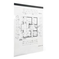 Samoprzylepna listwa magnetyczna DURABLE DURAFIX® RAIL szerokość 297 mm (A4), 5 sztuk, czarny