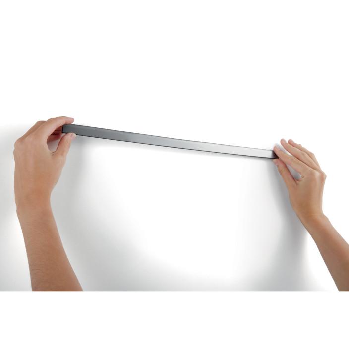 Samoprzylepna listwa magnetyczna w rolce DURABLE DURAFIX CLIP ROLL 5 metrów srebrny