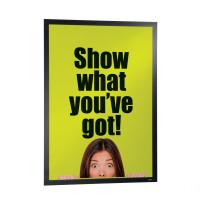 Samoprzylepna ramka informacyjna DURABLE DURAFRAME POSTER A1 do plakatów 1szt. czarna