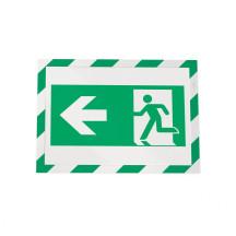 Samoprzylepna ramka magnetyczna DURABLE DURAFRAME SECURITY A4 zielono-biała 10 szt.