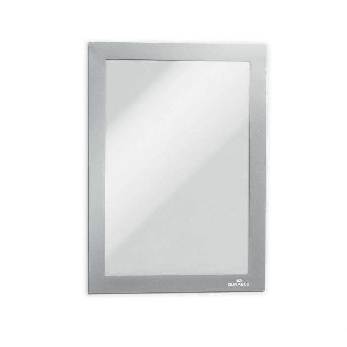 Samoprzylepna ramka magnetyczna DURABLE DURAFRAME A5 1szt. srebrna
