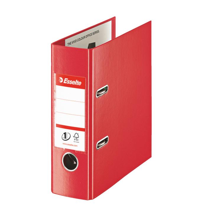 Segregator ESSELTE No. 1 Vivida A5/75mm czerwony 468630