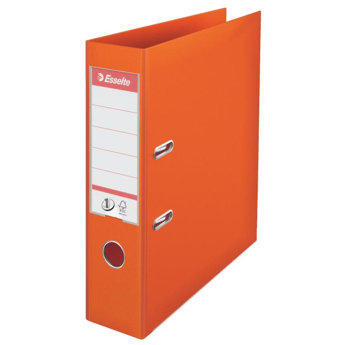 Segregator ESSELTE Standard No. 1 Power A4/75mm pomarańczowy 811340