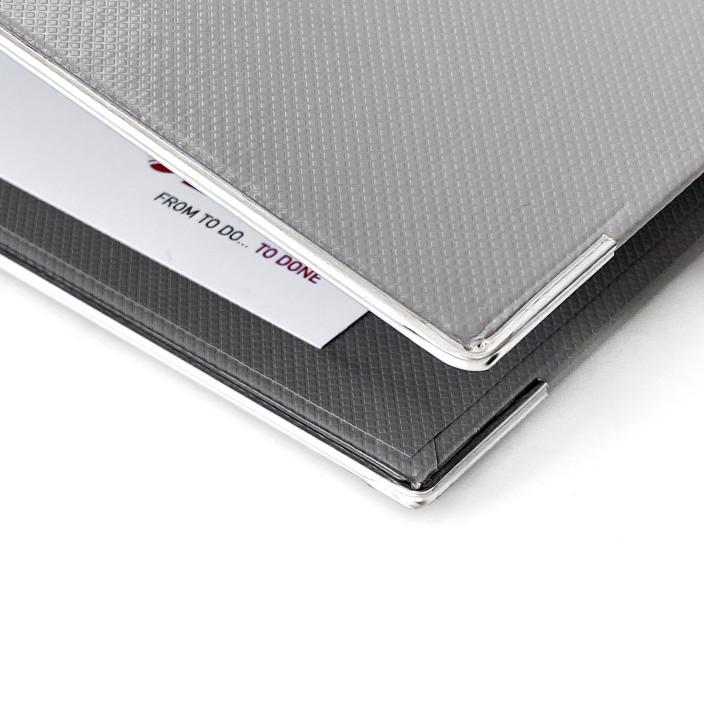 Segregator ESSELTE Vivida Plus A4/80mm biały 624075