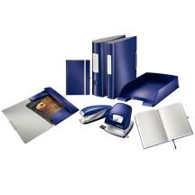 Segregator LEITZ Active Style 180o A4/82mm niebieski 11080069