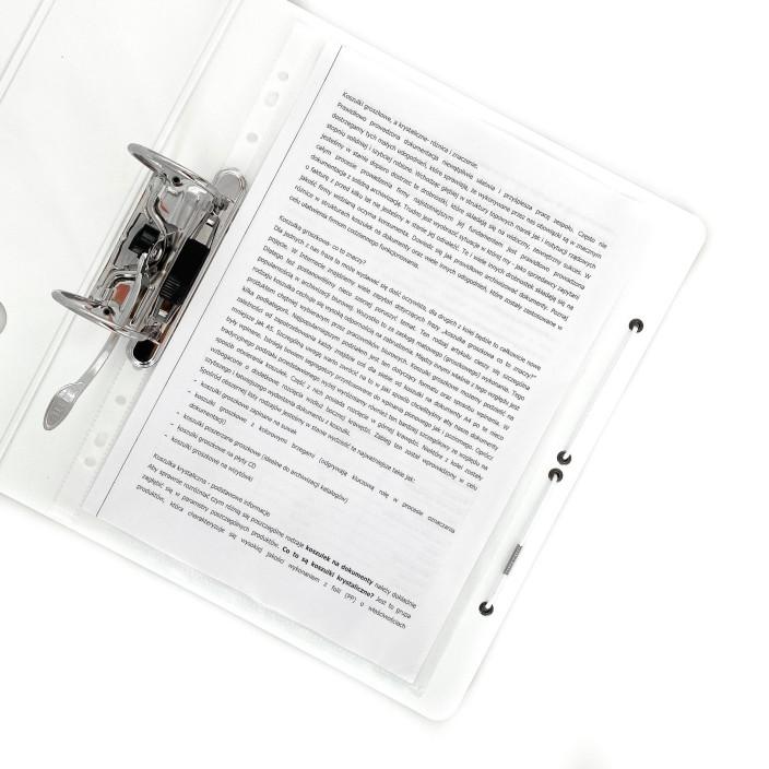 Segregator LEITZ ACTIVE WOW 180o A4/65mm różowy 11070023