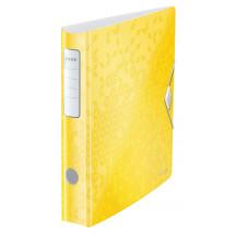 Segregator LEITZ ACTIVE WOW 180o A4/65mm żółty 11070016