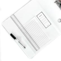 Segregator LEITZ ACTIVE WOW 180o A4/82mm biały 11060001