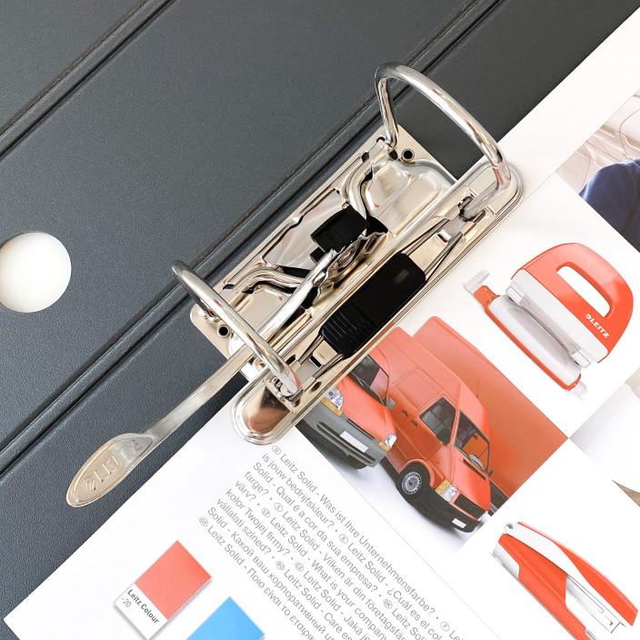 Segregator LEITZ Solid 180° A4/62mm niebieski 11130030