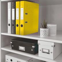 Segregator LEITZ WOW 180o A4/50mm żółty 10060016