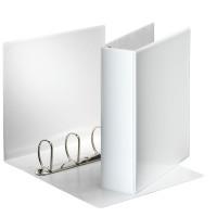 Segregator ofertowy ESSELTE Panorama A4/86mm 4 ringi biały 49706