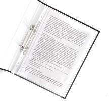 Segregator ringowy LEITZ WOW A4 2DR/25mm biały 42410001