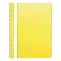 Skoroszyt DONAU A4 PCV twardy wpinany żółty 10szt.