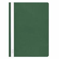 Skoroszyt DONAU A4 PCV twardy zielony 10szt.