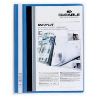 Skoroszyt prezentacyjny DURABLE Duraplus A4 niebieski