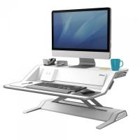 Stanowisko do pracy FELLOWES Sit-Stand Lotus™ DX - białe