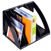 Stojak na książki i katalogi CEP Ice A4/220 czarny