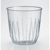 Szklanki plastikowe przezroczyste 250ml 25szt.