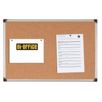 Tablica korkowa BI-OFFICE 100x150cm w ramie aluminiowej