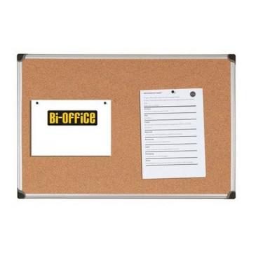 Tablica korkowa BI-OFFICE 60x90cm w ramie aluminiowej