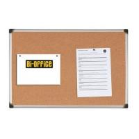 Tablica korkowa BI-OFFICE 90x120cm w ramie aluminiowej