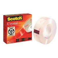Taśma biurowa Scotch Crystal Clear 600 19mmx33m