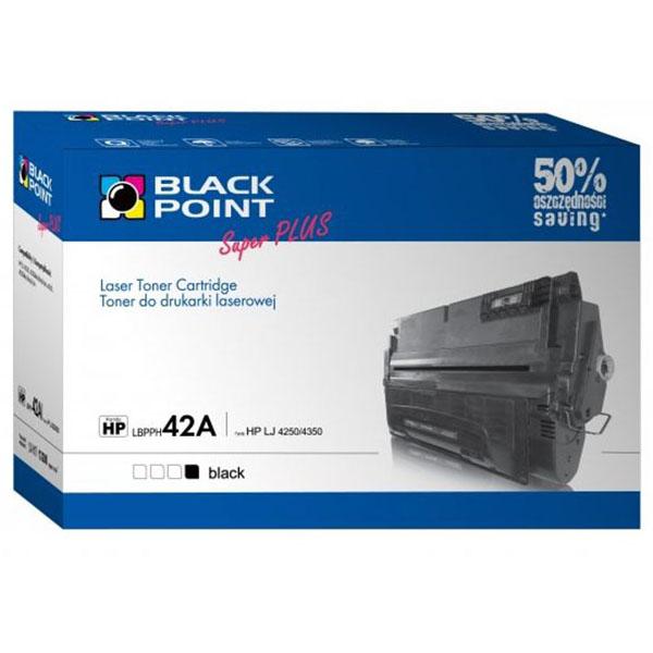 Toner BLACK POINT HP Q5942A nr 42A czarny