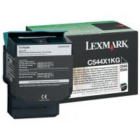 Toner LEXMARK C544X1KG czarny