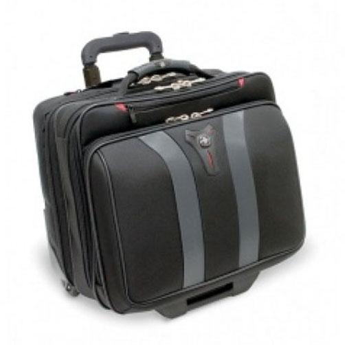 "Torba pilotka WENGER Granada 17"", 420x340x200mm czarna/szara"